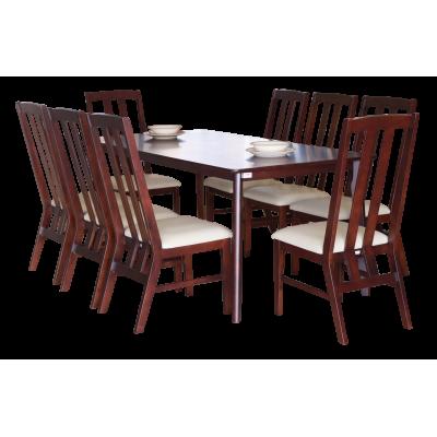 ชุดโต๊ะอาหาร 8 ที่นั่ง รุ่น JOHNNY