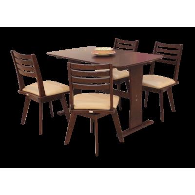 ชุดโต๊ะอาหาร 4 ที่นั่ง รุ่น LAILA