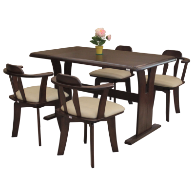 ชุดโต๊ะอาหาร 4 ที่นั่ง รุ่น เมฆขลา