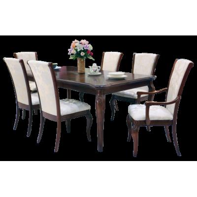 ชุดโต๊ะอาหาร 6 ที่นั่ง  รุ่น   9215-201/160/161
