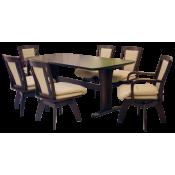 ชุดโต๊ะอาหาร 6 ที่นั่ง (3)