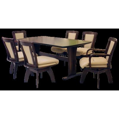 ชุดโต๊ะอาหาร 6 ที่นั่ง รุ่น NICOLAS