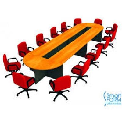 ชุดโต๊ะประชุมทรงโค้ง 14 - 16 ที่นั่ง รุ่น W5CFC51K
