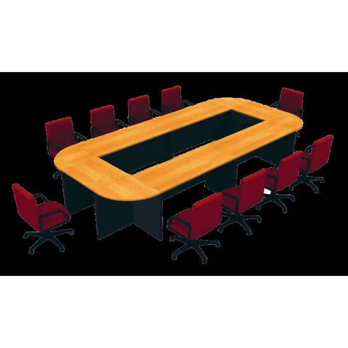 ชุดโต๊ะประชุมทรงโค้ง 10 ที่นั่ง รุ่น W5CFC42K