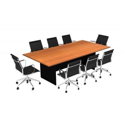 โต๊ะประชุม 240 ซม.ทรงตรง รุ่น OF-ME02