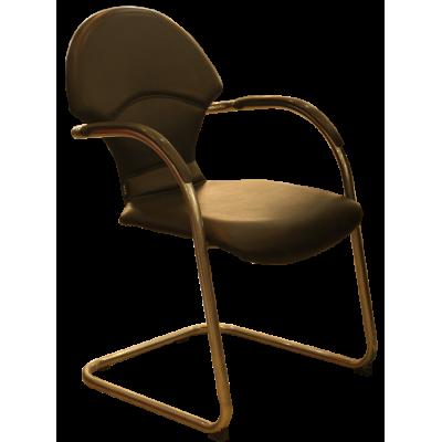 เก้าอี้รับรอง บุหนังเทียม บุหนังชุบ รุ่น  LG-1/C