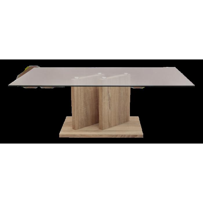 โต๊ะกลางกระจก รุ่น  PISA (GCT-207)